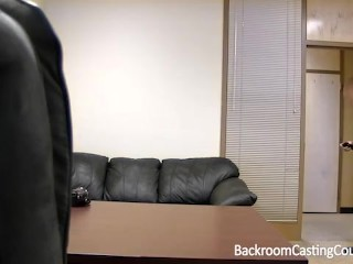 Sweet Russian Teen Casting Couch Creampie