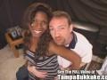 Ebony Caren's  Tampa Bukkake Gang Banging!