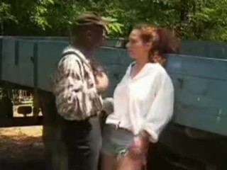 YOUNG REDHEAD GETS BY OLD MAN By Newadultube