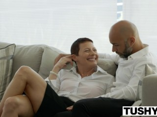 TUSHY First Anal For Teen Rebel Lynn