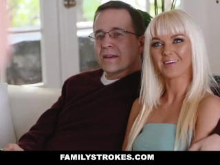 FamilyStrokes – Hot Step-Mom Fucked After Workout