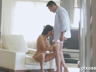 Gorgeous Babe Anissa Kate Pleasing Her Man