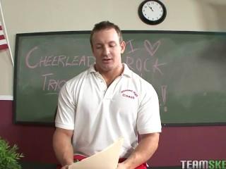 Cheerleader Sensi Pearl Fucks Teacher