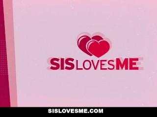 SisLovesMe – Hot Step-Sis Needs A Helping Hand