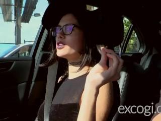 Emo Goth Teen Mia's Orgasmic Porn Debut