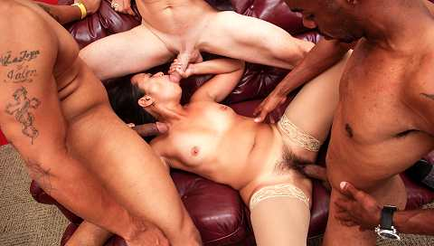 My Hairy Gang Bang #05