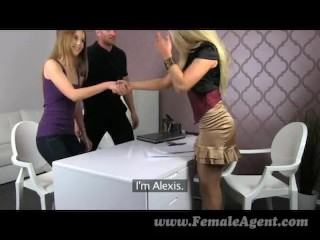 FemaleAgent – MILF In Amazing Sexy Threesome