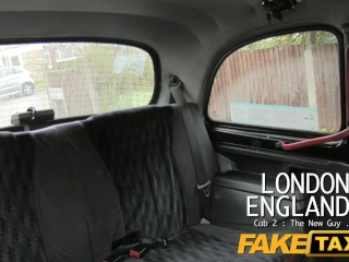 FakeTaxi – Busty Milf Gets Hot Lips On Cock