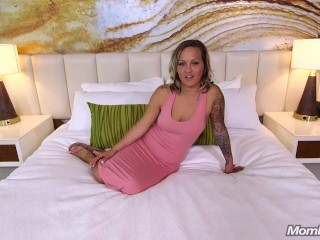 Slutty Tattooed Amateur Milf Cock Worship