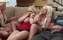 Babes Sharing 1 Cock