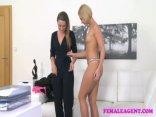 FemaleAgent Lesbian Agents Sensual Seduction 2