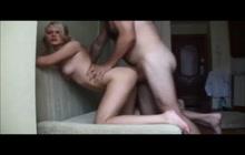 Blonde Teen GF Getting Ass Banged
