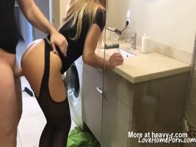 Cumshot On Her Sexy Big Ass