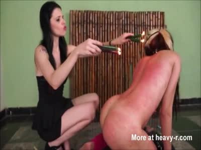 Hot Waxing BDSM