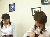 Mayumi & Mio Sweet Asian Lesbian – Part 1