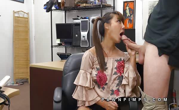 Tiffany Rain Giant Tits Asian Babe Sucks