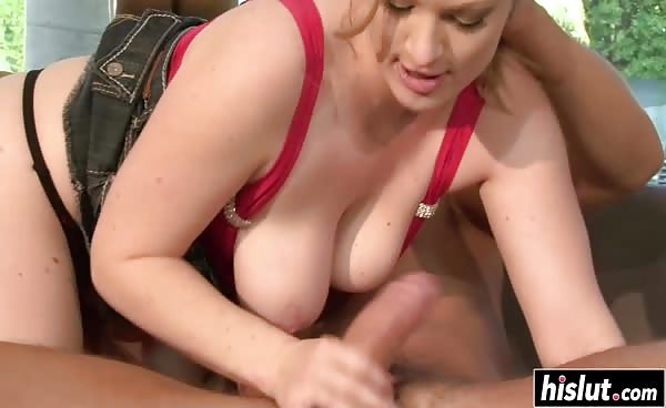 Busty Fantastic Chick Fucked Hard Outdoors