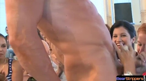 CFNM Amateur Drilled By Strippers Black Cock