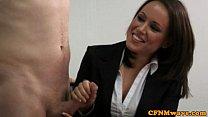 CFNM Jerking Loving Managers