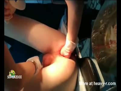 Anal Fisting On Operating Table