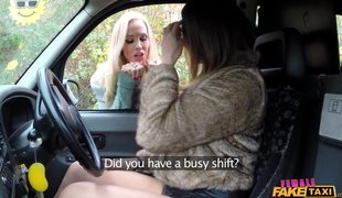 Female Fake Taxi – Lesbian Sex Between Ava Austen And Rebecca More