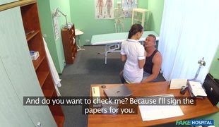 Female Doctor Mea Melone Wants Her Patient's Dick