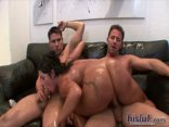 Big Booty Monica Gets Her Latina Culo Greased Up