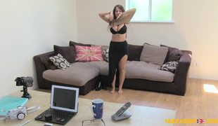 Hot Chick With Great Boobs Kim Grant Blows And Fucks Big Dick