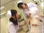 Two Horny Japanese Nurses Fucking Their Patient