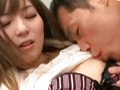 Whimsical Japanese Office Lady Is Giving Blowjob To Her Dude