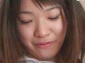 Lovely And Sexy Japanese Schoolgirl Is Sucking Big Boner