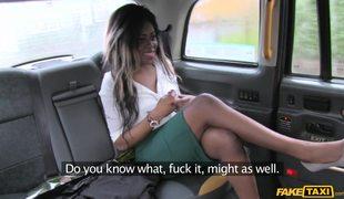 Interracial Sex Between Maria Ryder And London Fake Cabbie