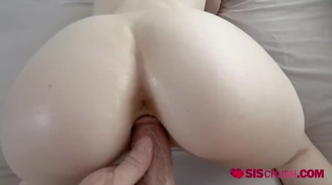 Horny Redhead Gets Drilled By Horny Stepbrother On The Couch