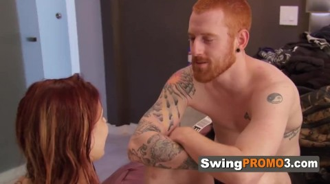 Redhead Swingers Know How To Spice Things Up