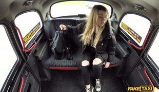 Hardcore Fuck With Amateur Blonde Misha Cross On The Backseat Of Fake Cab