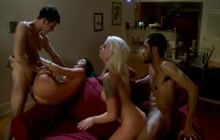 Interracial Swingers Party