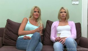 Two Hot And Slutty Blondes Lana And Lea On Fake Casting Pt1