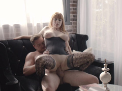 Young Man Was Home Alone When Penny Pax Came For Fucking