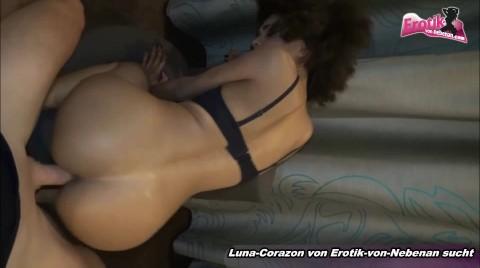 Hairy Black Ebony Teen Fucks With Fake German Photographer And Swallow Cums