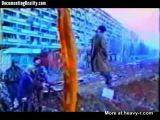 Chechen Rebels Hang Russian Soldier