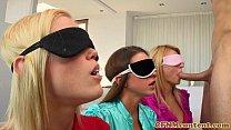 Blindfolded Cfnm Babe Natalia Starr Bj
