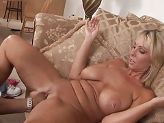 Wild Interracial Porn Featuring Sensational Blonde