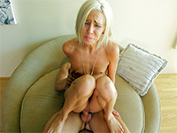 Blonde Chick Gets Her Small Asshole Stretched To The Limits