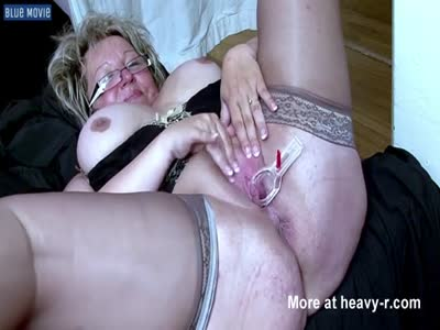 Grandma Pussy Inspection