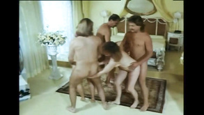 Funny Vintage Group Sex