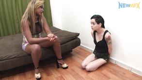 Interracial Lesdom Porn