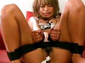 Dildo Teasing Her Pussy Good