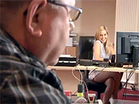 Young Blonde Secretary Fucked By Her Much Older Boss
