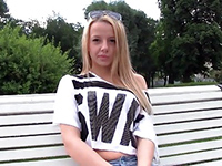 Young Russian Babe Gave All Her Holes For The Money