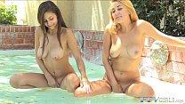 Lesbian Teen Newbie Toyed